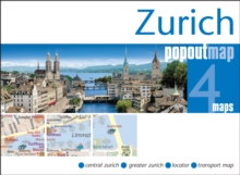 Zurich PopOut Map, Sheet map, folded Book