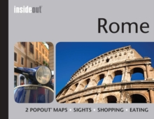 Insideout: Rome Travel Guide : Handy, Pocket Size Guide to Rome with 2 Pop-out Maps, Hardback Book