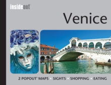 Insideout: Venice Travel Guide : Pocket Size Travel Guide for Venice with 2 Popout Maps, Hardback Book