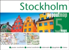 Stockholm Popout Map : Handy, Pocket Size, Pop-Up Map of Stockholm, Sheet map, folded Book