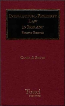 Intellectual Property Law in Ireland, Hardback Book