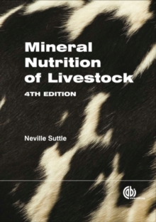 Mineral Nutrition of Livestock, Hardback Book