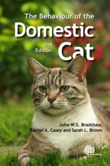 Behaviour of the Domestic Cat, Paperback Book