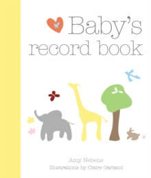 Baby's Record Book, Hardback Book