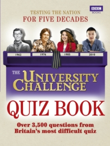 The University Challenge Quiz Book, Paperback / softback Book