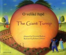 The Giant Turnip Czech & English, Paperback Book