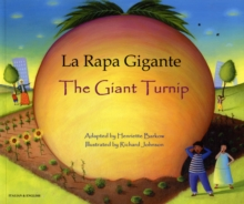 The Giant Turnip Italian & English, Paperback Book