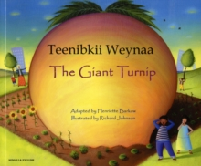 The Giant Turnip Somali & English, Paperback Book