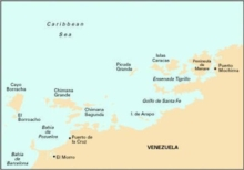 Imray Iolaire Chart D131 : Puerto Mochima to Carenero, Sheet map, folded Book