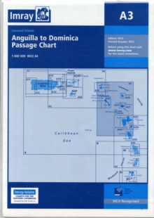 Imray Chart A3 : Anguilla to Dominica Passage Chart, Sheet map, folded Book