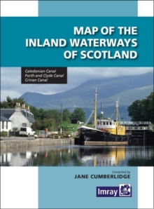 Map Inland Waterways of Scotland, Sheet map, folded Book