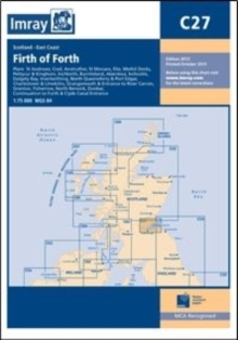 Imray Chart C27 : Firth of Forth, Sheet map, folded Book