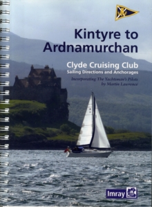 CCC Sailing Directions - Kintyre to Ardnamurchan, Spiral bound Book