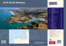 Imray Chart Pack 2510 : North Brittany, Paperback / softback Book