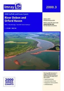 Imray Chart 2000.3 : River Deben and Orford Haven, Sheet map, folded Book
