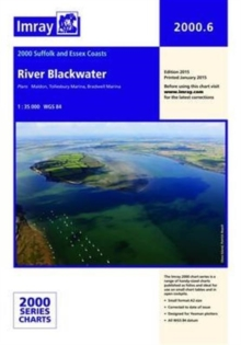 Imray Chart 2000.6 : River Blackwater, Sheet map, folded Book