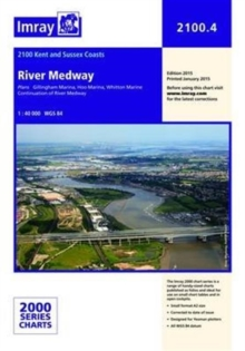 Imray Chart 2100.4 : River Medway, Sheet map, folded Book