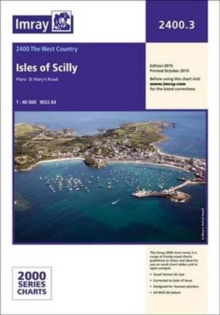 Imray Chart 2400.3 : Isles of Scilly, Paperback Book