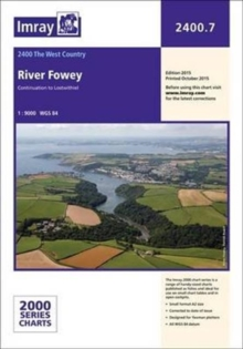 Imray Chart 2400.7 : River Fowey to Lostwithiel, Paperback Book