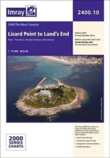 Imray Chart 2400.10 : Lizard Point to Land's End, Paperback Book