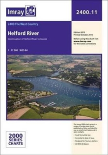 Imray Chart 2400.11 : Helford River, Paperback Book