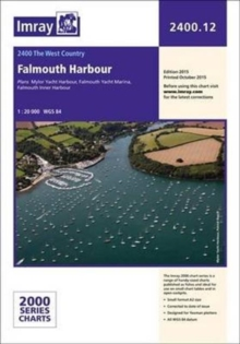 Imray Chart 2400.12 : Falmouth Harbour, Paperback Book