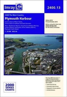 Imray Chart 2400.13 : Plymouth Harbour, Paperback / softback Book
