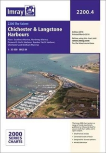 Imray Chart 2200.4 : Chichester and Langstone Harbours, Paperback Book