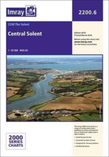 Imray Chart 2200.6 : Central Solent, Paperback Book