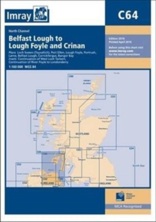 Imray Chart C64 : North Channel - Belfast Lough to Lough Foyle and Crinan, Paperback / softback Book