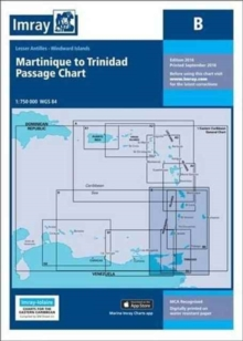 Imray Chart B : Martinique to Trinidad Passage Chart, Paperback Book