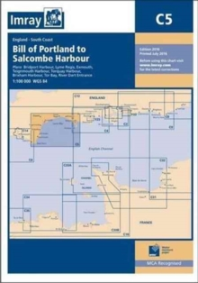 Imray Chart C5 : Bill of Portland to Salcombe Harbour, Paperback / softback Book