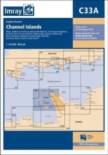 Imray Chart C33a : Channel Islands (North), Paperback / softback Book