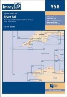Imray Chart Y58 : River Fal - Falmouth to Truro, Paperback / softback Book