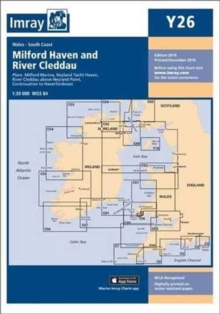 Imray Chart Y26 : Milford Haven, Sheet map, folded Book