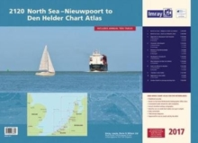Imray Chart Atlas 2120 North Sea - Nieuwpoort to den Helder 2017 : Nieuwpoort to den Helder (Including North Sea Passage Planning Sheet), Spiral bound Book