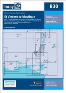 Imray Chart B30 : Grenadines - North Sheet - St Vincent to Mustique, Sheet map, folded Book