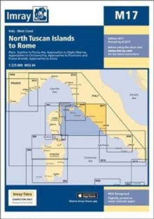 Imray Chart M17 : North Tuscan Islands to Rome, Sheet map Book