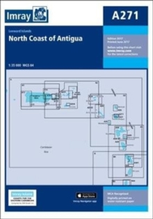A271 North Coast of Antigua, Sheet map, folded Book