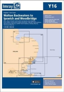 Imray Chart Y16 : Walton Backwaters to Ipswich and Woodbridge, Sheet map, folded Book