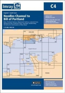 Imray Chart C4 : Needles Channel to Bill of Portland, Paperback Book