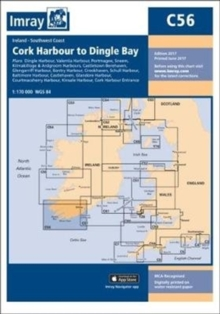 Imray Chart C56 : Cork Harbour to Dingle Bay, Sheet map, folded Book