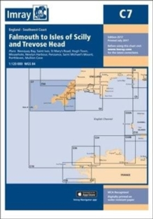 Imray Chart C7 : Falmouth to Isles of Scilly and Trevose Head, Sheet map, folded Book
