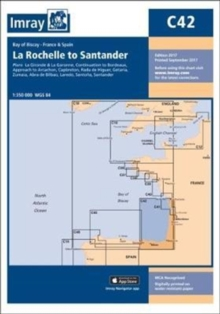 Imray Chart C42 : La Rochelle to Santander, Sheet map, folded Book