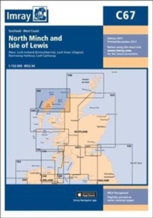 Imray Chart C67 : North Minch and Isle of Lewis, Sheet map, folded Book