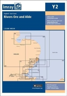 Imray Chart Y2 : Rivers Ore and Alde, Paperback Book