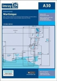 Imray Chart A30 : Martinique, Paperback Book