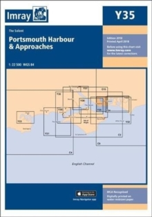 Imray Chart Y35 : Portsmouth Harbour and Approaches, Sheet map, folded Book