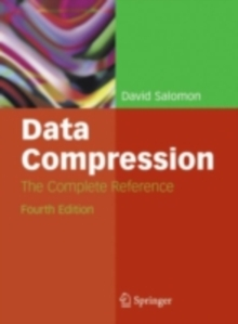 Data Compression : The Complete Reference, PDF eBook