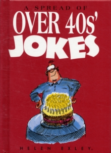 Over 40s Jokes, Hardback Book